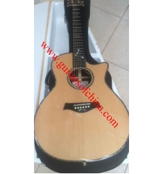 Chaylor 916ce acoustic guitar natural