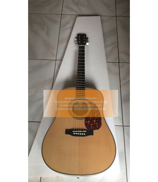 Custom Martin HD 28e Retro Standard Series Guitar Solid Wood Natural