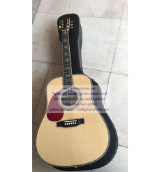 Custom Left-handed Martin D 45 SS Factory Price Natural Guitar